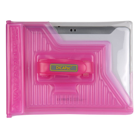 "DiCAPac Universal Waterproof Case for Tablets up to 10.1"" - Pink"