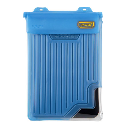 "DiCAPac Universal Waterproof Case for Tablets up to 8"" - Blue"