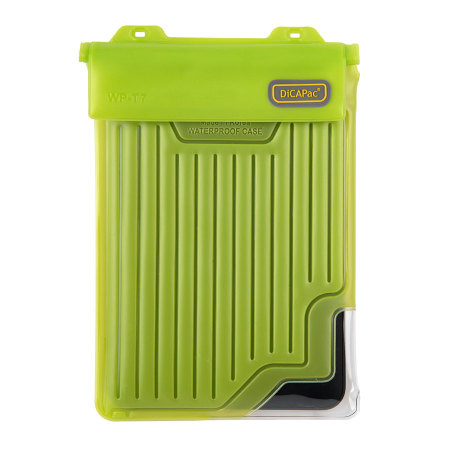 "DiCAPac Universal Waterproof Case for Tablets up to 8"" - Green"