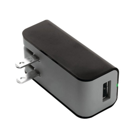 Griffin PowerBlock US 2.1A AC USB Wall Charger with 30-pin Apple Cable