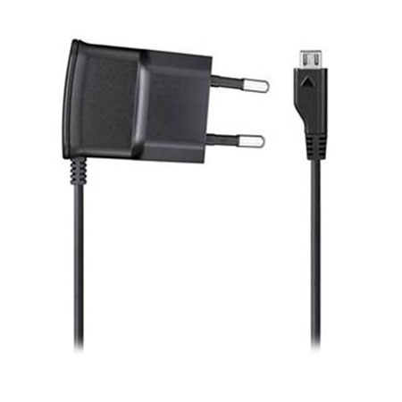 Official Samsung 1A Micro USB EU AC Wall Charger - Black