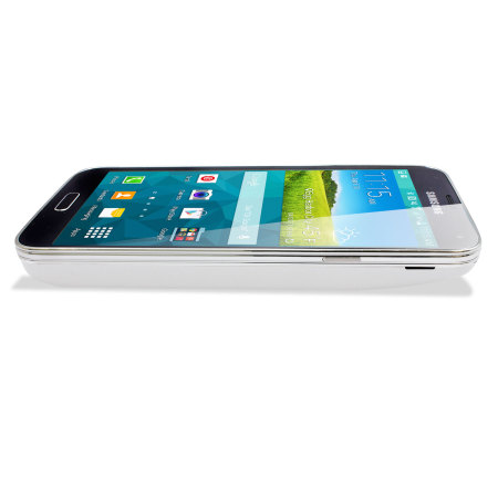 Mugen Samsung Galaxy S5 Extended Battery and Cover (5900mAh) - White