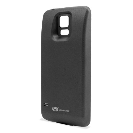 Mugen Samsung Galaxy S5 Extended Battery and Cover (5900mAh) - Black