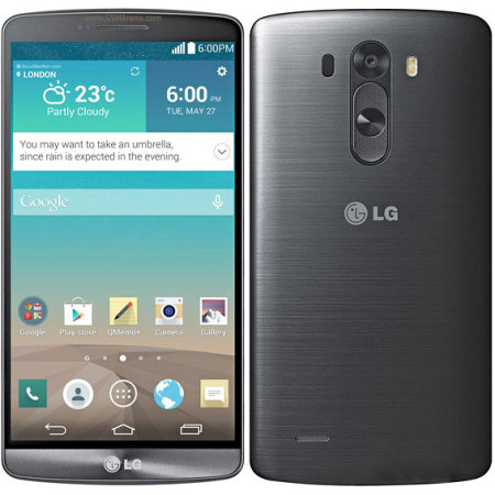 SIM Free LG G3 Unlocked - 16GB - Titan Grey