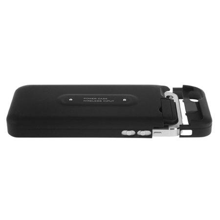 Coque / Adaptateur Qi iPhone 5C et Chargeur Qi 3-en-1 2000mAh – Blanche