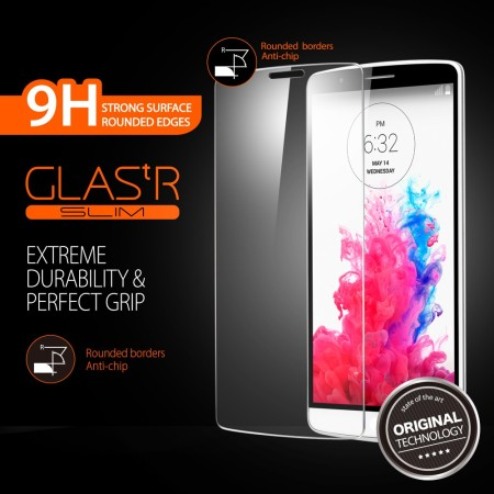new product 74c21 42bb0 Spigen GLAS.tR NANO SLIM LG G3 Tempered Glass Screen Protector