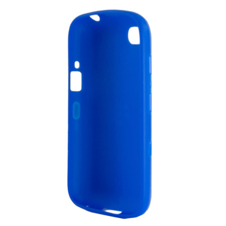 Official BlackBerry 9720 Soft Shell Case - Blue