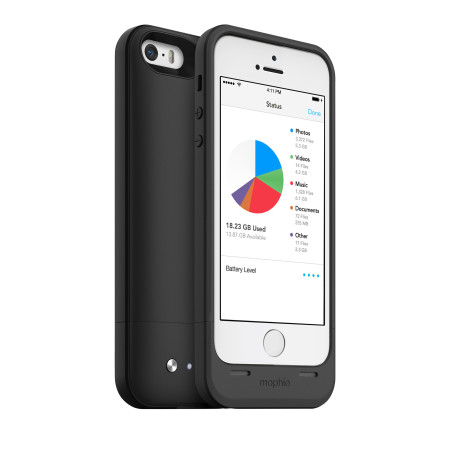 Mophie 32GB Space Pack for iPhone 5S / 5 - Black