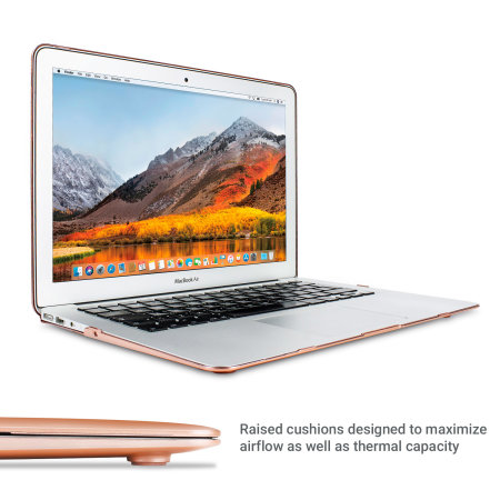 "Coque MacBook Air 13"" ToughGuard – Or Champagne"