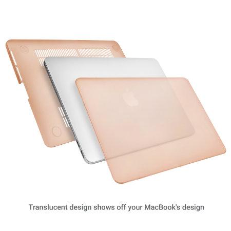 Olixar ToughGuard MacBook Pro Retina 13 inch Hard Case - Gold