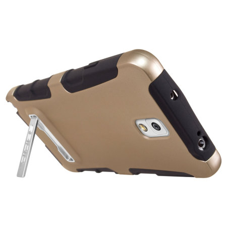 Seidio DILEX Samsung Galaxy Note 3 Case with Kickstand - Gold