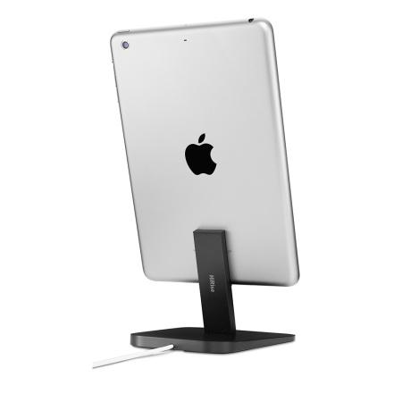 twelve south hirise lightning desktop stand and charger black