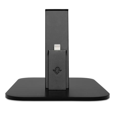 Twelve South HiRise Lightning Desktop Stand and Charger - Black