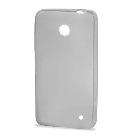 Flexishield Nokia Lumia 630 / 635 Gel Case - Frost white