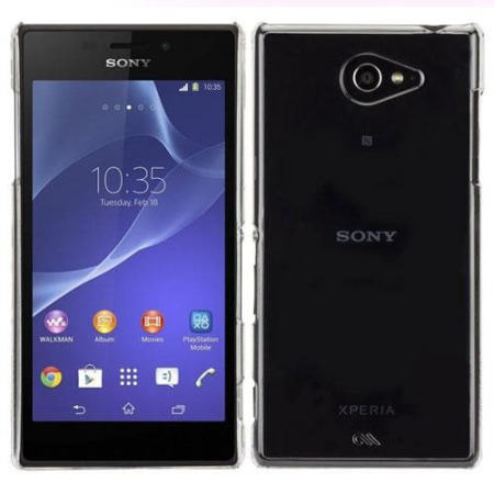 Case-Mate Barely There Sony Xperia M2 Case - Clear