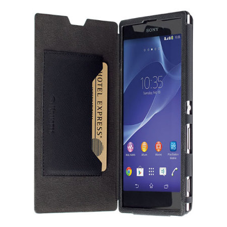 View larger image of Krusell Malmo Sony Xperia T3 Flip Case - BlackXperia T3 Black
