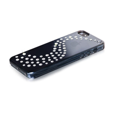 Bling My Thing Milky Way iPhone 5S / 5 Mirror Case - Black