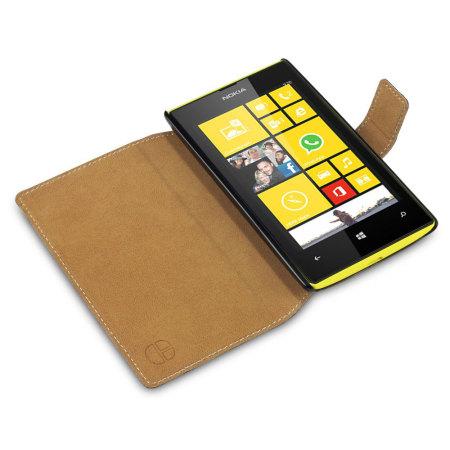 factory price ef24c 62016 Nokia Lumia 520 Folio Book Case - Black