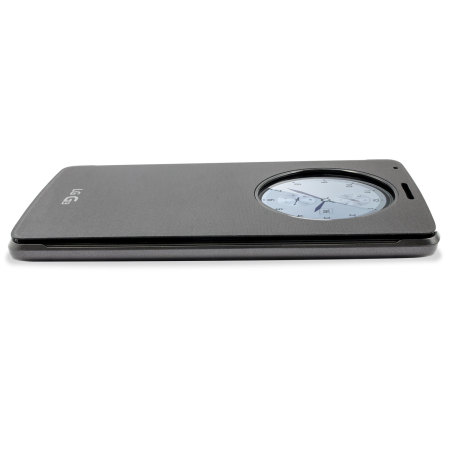 LG G3 QuickCircle Qi Wireless Charging Cover - Metallic Black
