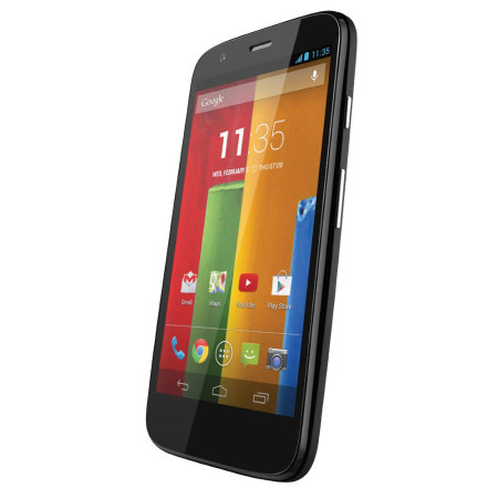 sim free 8gb motorola moto g 4g lte black. Black Bedroom Furniture Sets. Home Design Ideas