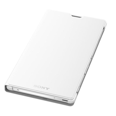 Official Sony Xperia T3 Style Cover Stand Case - White