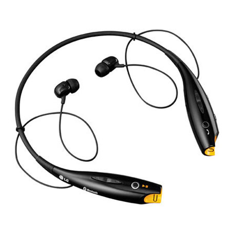 LG Tone HBS700 Bluetooth Wireless Headset - Black
