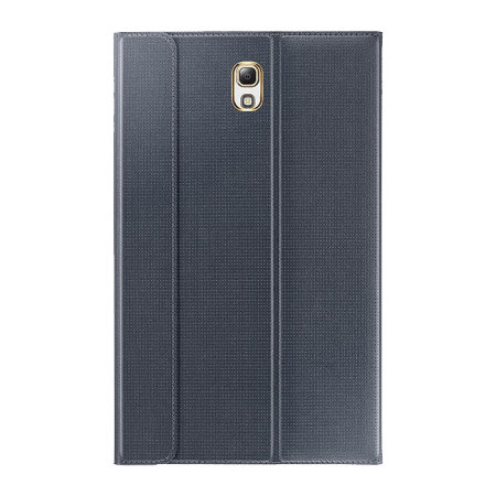 Official Samsung Galaxy Tab S 8.4 Book Cover - Charcoal Black