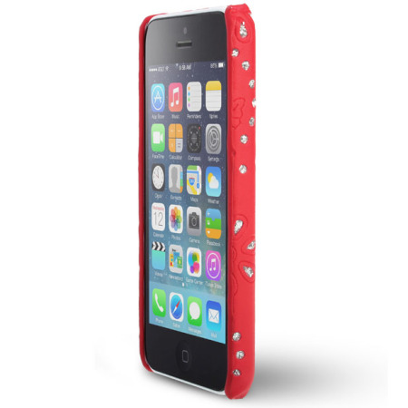 red iphone 5c genx iphone 5c bling 4944