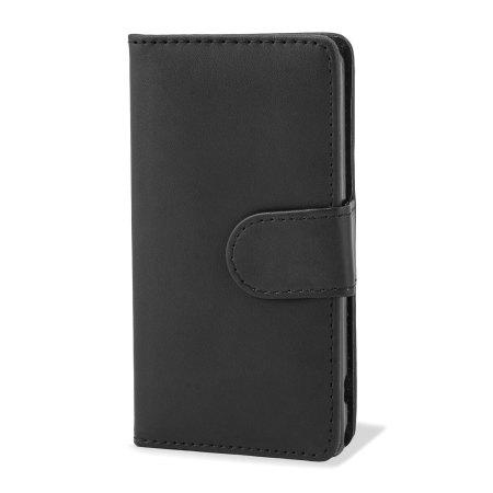 Adarga Xperia Z1 Compact Multi-Functional Wallet Case - Black