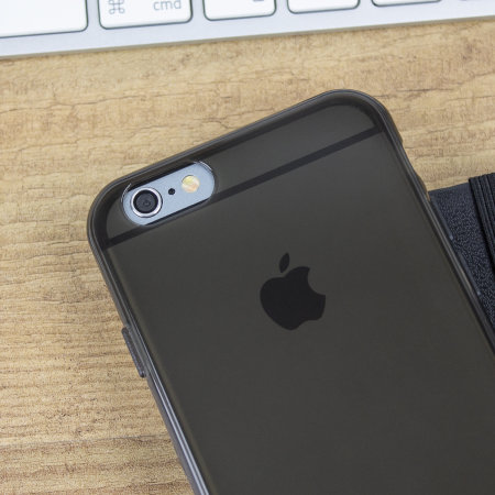 olixar flexishield iphone 6s case - smoke black