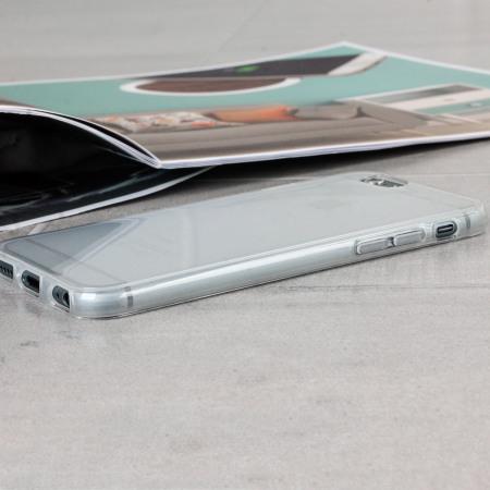 Coque iPhone 6S / 6 FlexiShield – Blanche Givrée