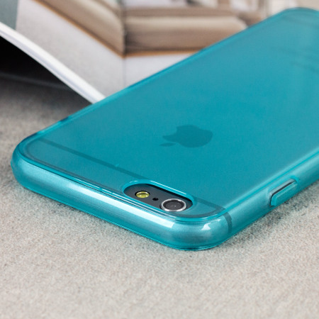Olixar FlexiShield iPhone 6S / 6 Case - Light Blue