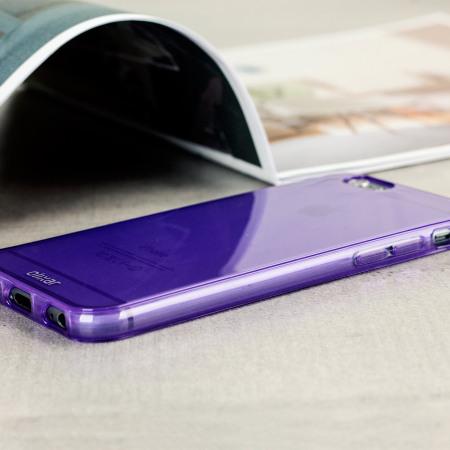 olixar flexishield iphone 6s 6 case purple