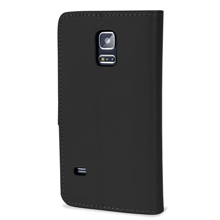 Encase  Leather-Style Samsung Galaxy S5 Mini Wallet Case - Black