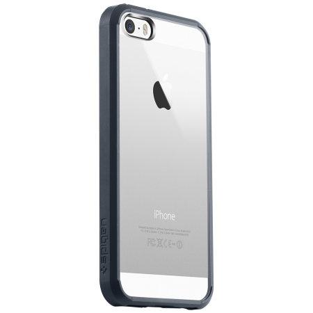 Spigen SGP Ultra Hybrid til iPhone 5S / 5 - Metallskifer