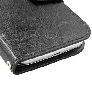 skype: olixar leather style universal rotating 5 inch phone case black more photo
