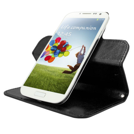 August olixar leather style universal rotating 5 inch phone case black update