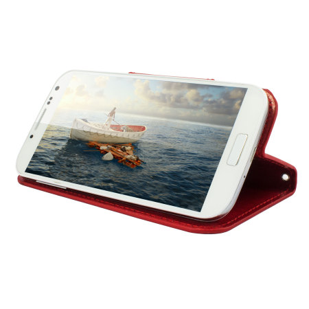 encase rotating 5 inch leather style universal phone case red performance means kids