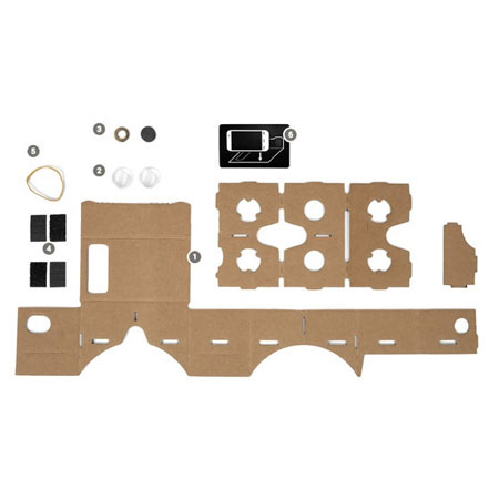 View larger image of dodocase google cardboard virtual reality kit