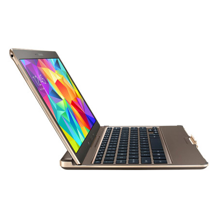 Official Samsung Galaxy Tab S 10.5 Keyboard Cover - Titanium Bronze