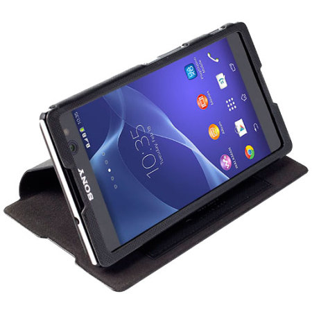 Krusell malmo flipcover sony xperia c3 wallet case black reheart Images
