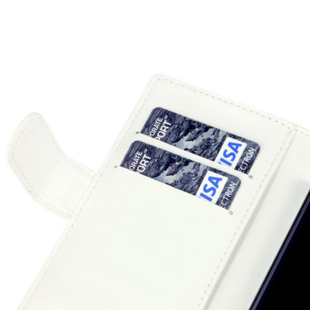 Adarga Sony Xperia Z Wallet Case - White