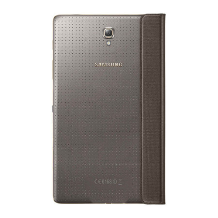 Official Samsung Galaxy Tab S 8.4 Simple Cover - Titanium Bronze