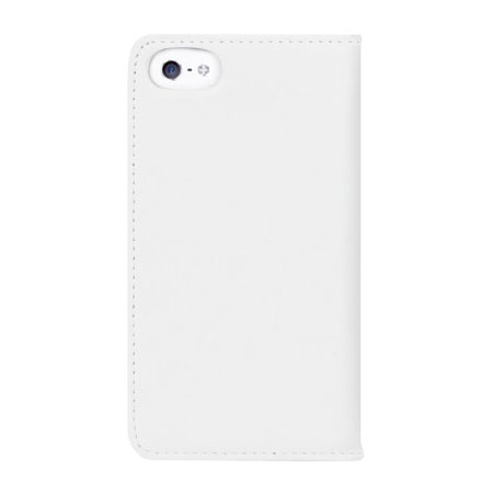 Bling My Thing Mystique Stripe iPhone 5S / 5 Case - White / Crystal