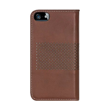 Bling My Thing Infinity Dots iPhone SE Case - Brown / White