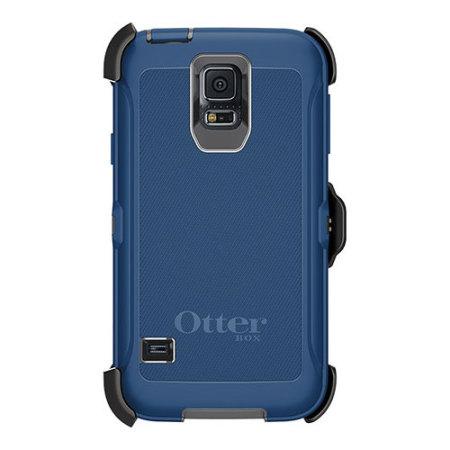 size 40 b0e1b 6e1ee OtterBox Defender Series Samsung Galaxy S5 Protective Case - Blue