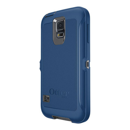 size 40 45b02 811a5 OtterBox Defender Series Samsung Galaxy S5 Protective Case - Blue