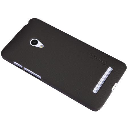 cheaper 09dfd bba6e Nillkin Super Frosted Shield Asus ZenFone 5 Case - Brown