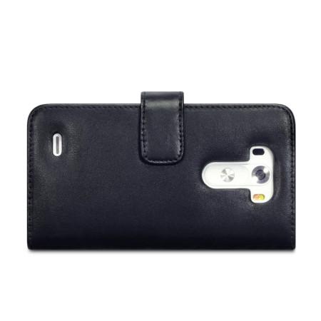Encase LG G3 Genuine Leather Wallet Case - Black
