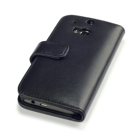 you want olixar htc one m8 genuine leather wallet case black gives feeling